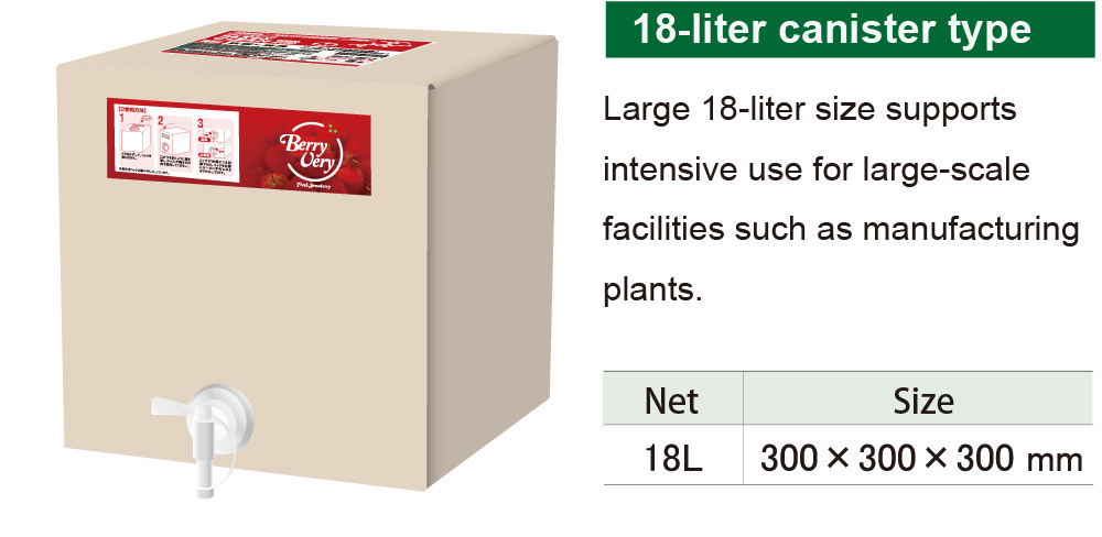 18-liter canister type